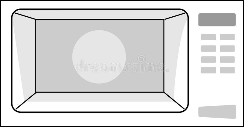 The microwave stock images