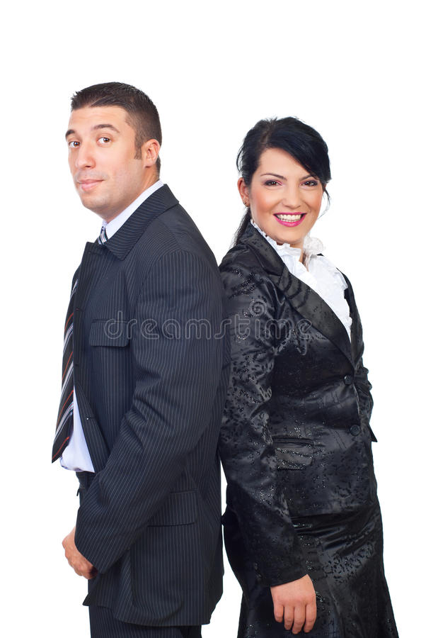 Download Mid Adult Couple In Elegant Suits Royalty Free Stock Photo - Image: 16585965