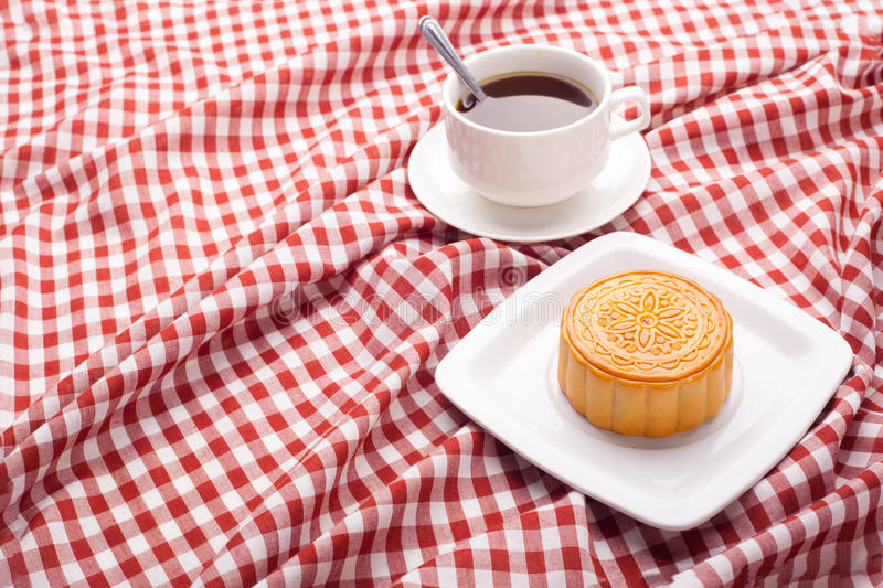 Download Mid Autumn Traditional Moon Cakes On Table Setting With Teacup. Stock Photo - Image  sc 1 st  Dreamstime.com : traditional chinese table setting - Pezcame.Com