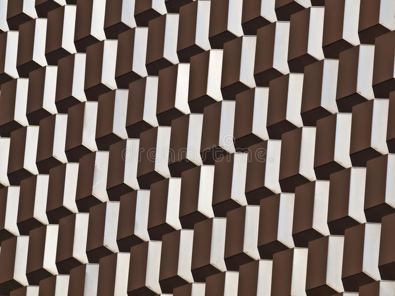 Mid Century Architectural Abstract Royalty Free Stock Photography