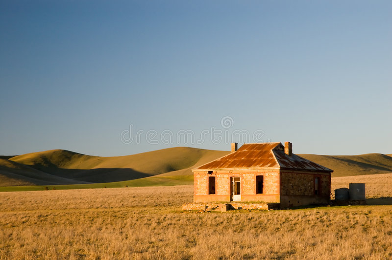 Download Mid North Ruin stock photo. Image of residence, vista - 1161412