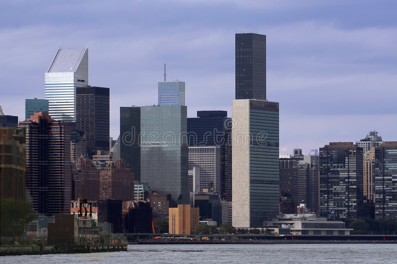 Download Mid-town stock image. Image of united, midtown, skyscraper - 1709543