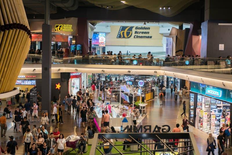 Mid Valley Megamall é um shopping localizado em Mid Valley City, Kuala Lumpur imagens de stock royalty free