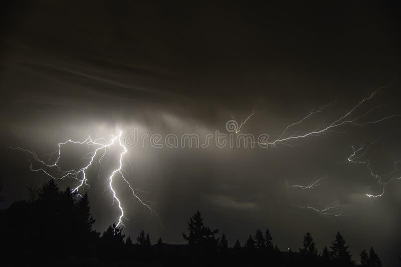 Mid Willamette Valley Thunderstorm Stock Photos