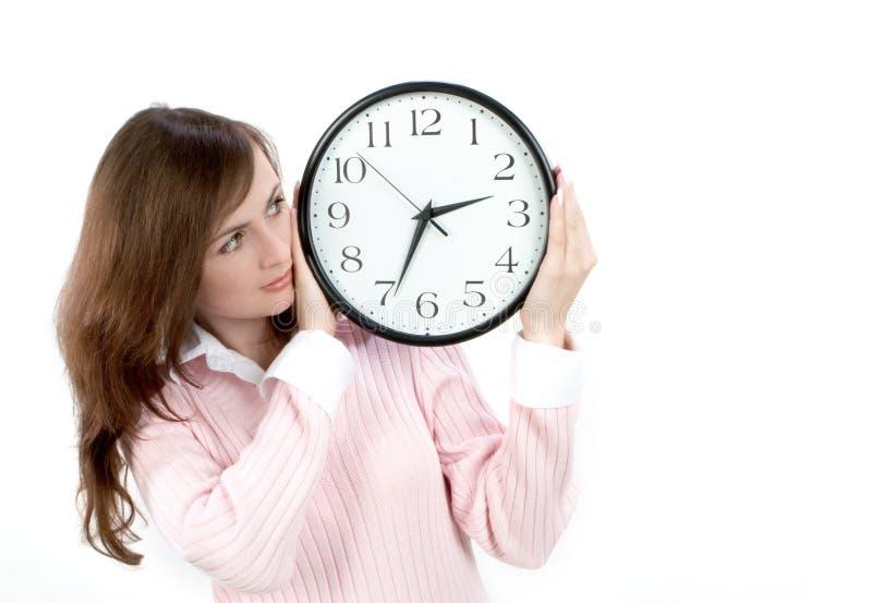 Download Mida El Tiempo Del Concepto Imagen de archivo - Imagen de reloj, belleza: 1294953