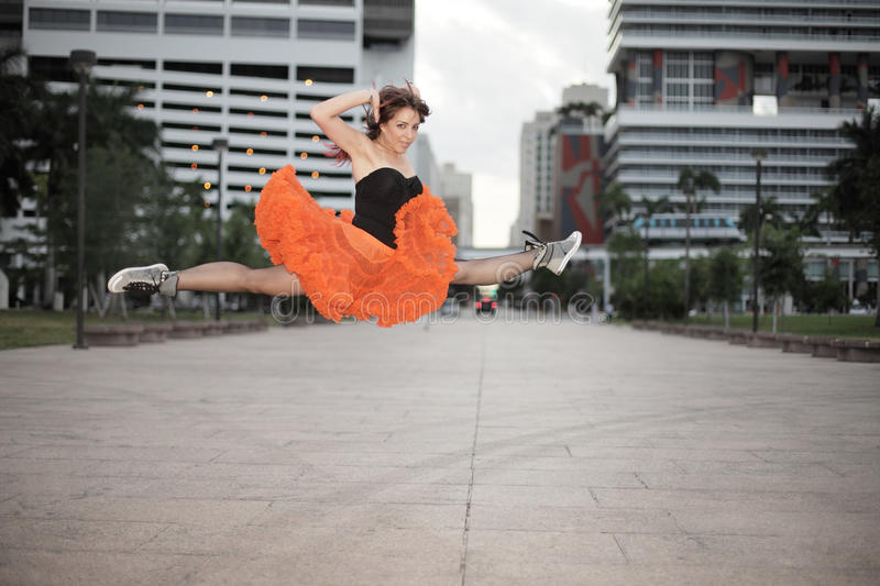 Download Midair split stock photo. Image of pretty, beauty, downtown - 14618866
