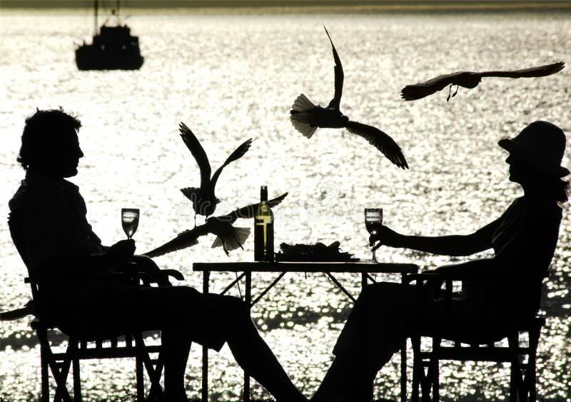 Middag II In de open lucht