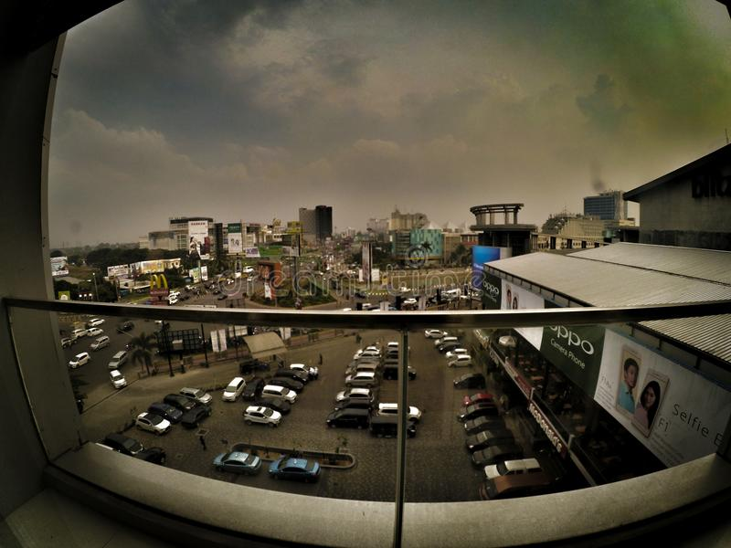 MIDDAG, stad, wonderfull, royalty-vrije stock afbeelding