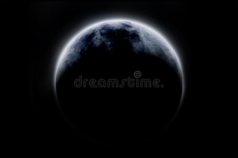 Middel 1 van de planeet stock illustratie