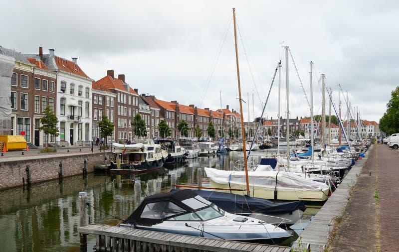 Middelburg, οι Κάτω Χώρες στοκ εικόνα