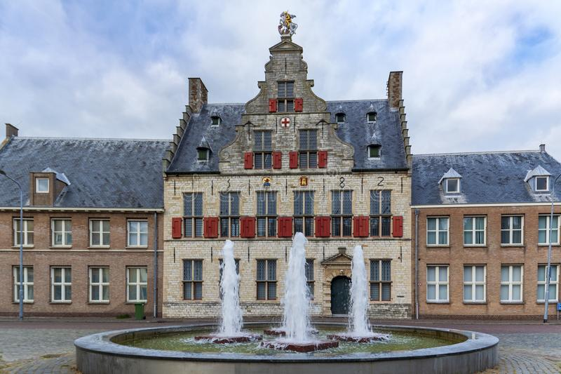 Middelburg, Netherlands, Sint Jorisdoelen building. Middelburg, Zeeland, Netherlands, Walcheren province, St Jorisdoelen building , the guild house of the guild royalty free stock photo
