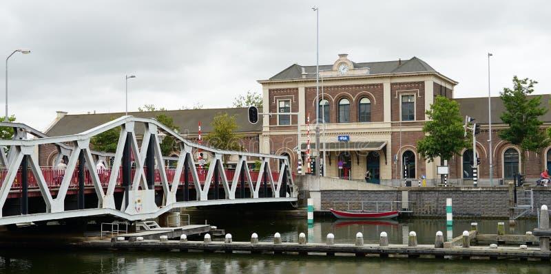 Middelburg railway station in the Netherlands stock photos