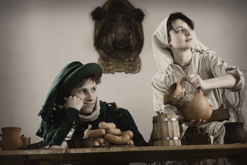 Middeleeuws stock foto's