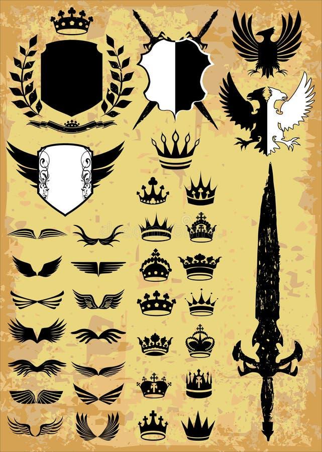 Middeleeuws royalty-vrije illustratie