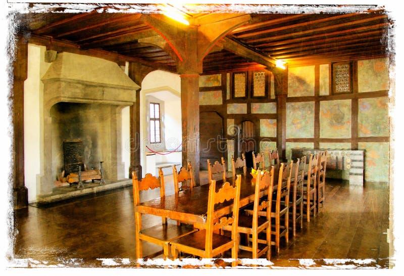 Middeleeuws binnenland stock fotografie