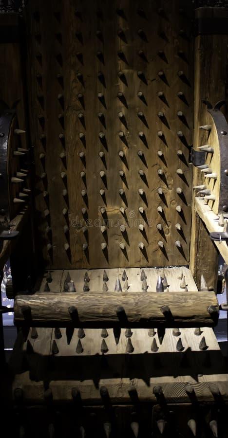 Middeleeuws instrument van marteling royalty-vrije stock afbeelding