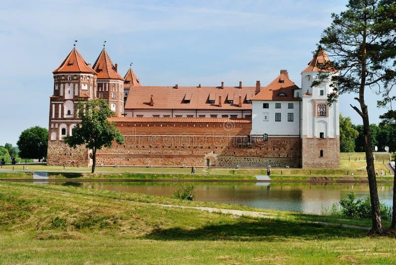 Middeleeuws kasteel stock fotografie