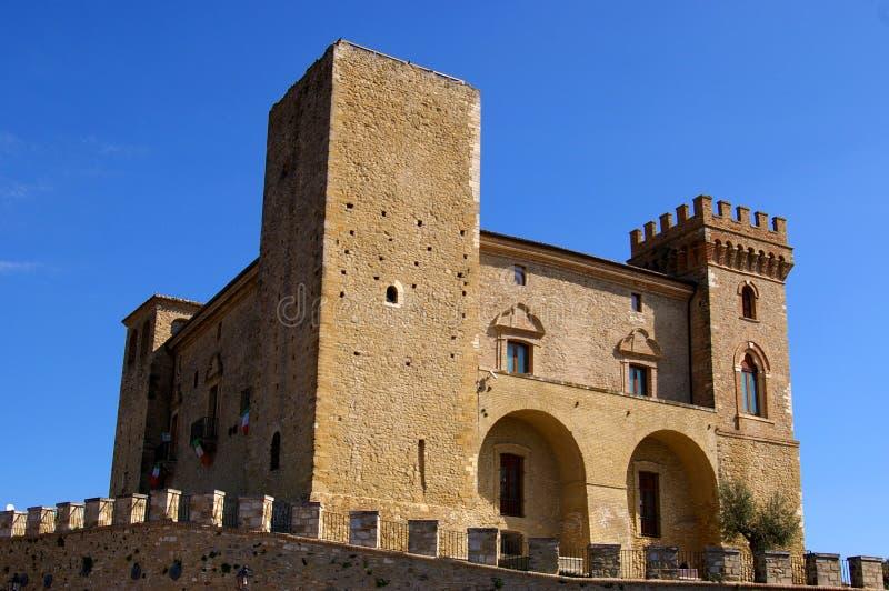 Middeleeuws kasteel royalty-vrije stock foto's