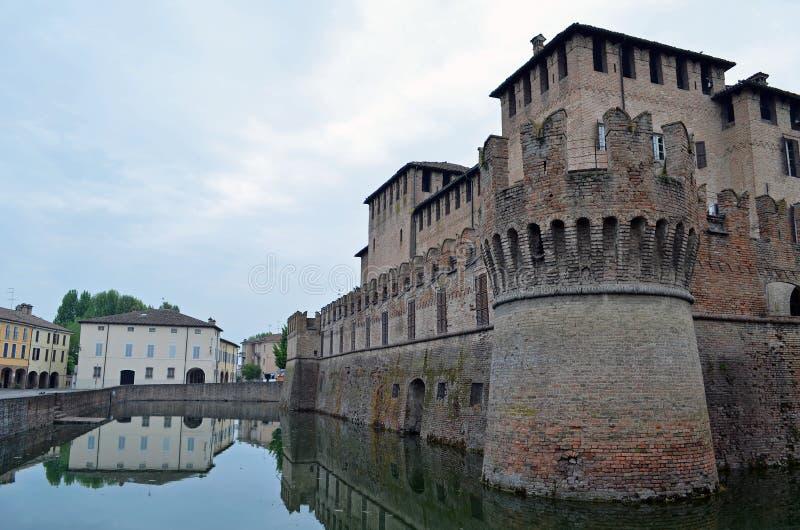 Middeleeuws kasteel stock afbeeldingen