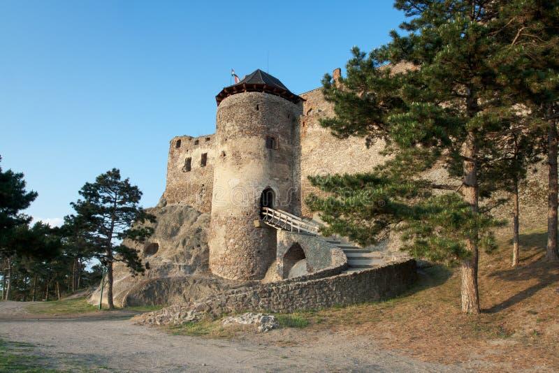 Middeleeuws kasteel Boldogko in Tokaj gebied Hongarije stock foto's