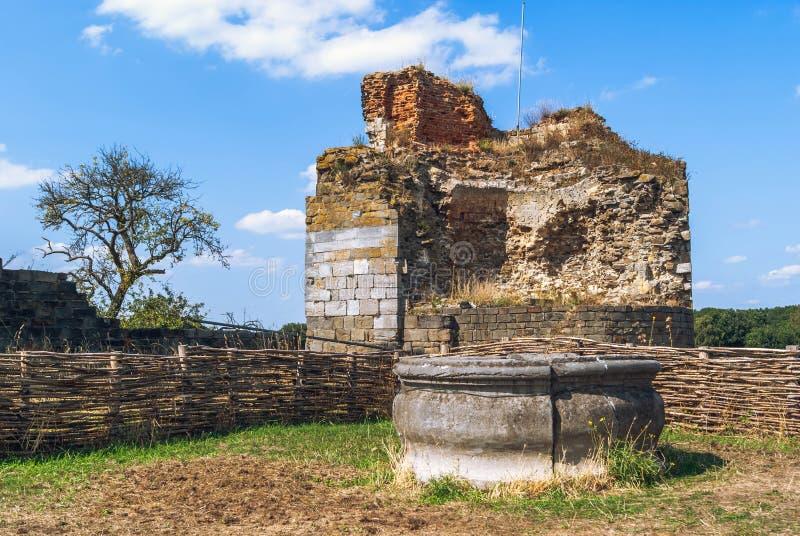 Middeleeuws kasteel goed stock afbeeldingen