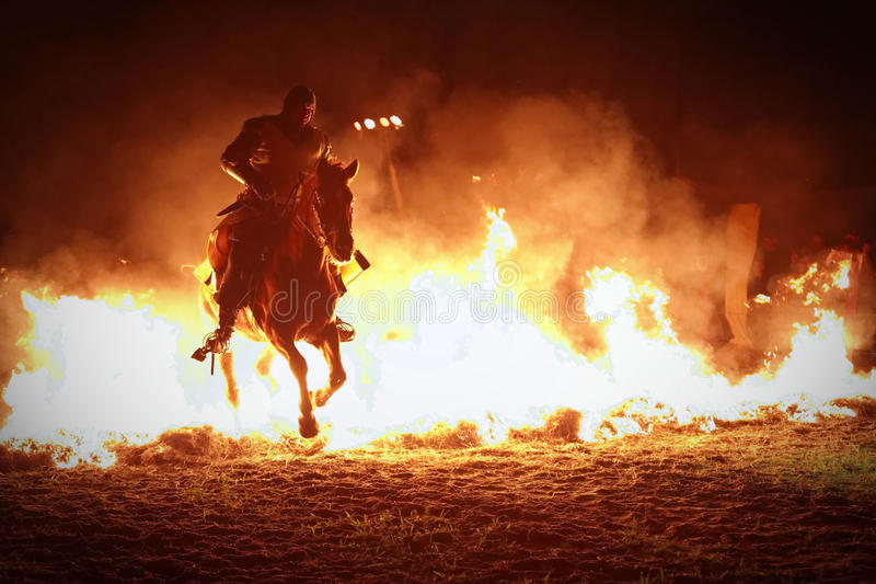 Middeleeuws Kasteelfestival stock afbeelding