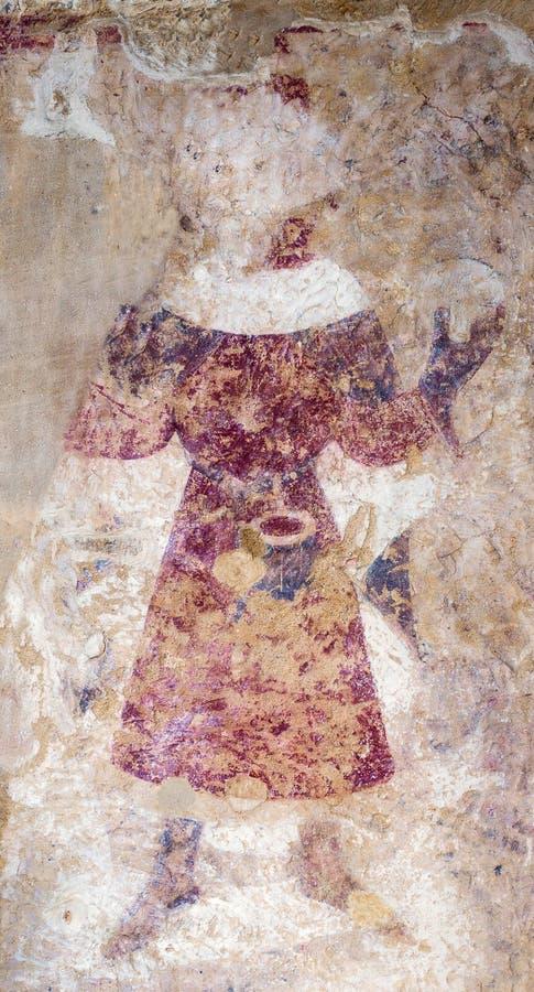 Download Middeleeuws muurschilderij stock foto. Afbeelding bestaande uit eeuw - 54080794