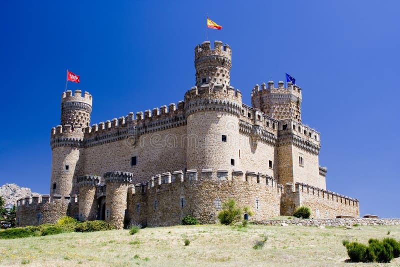 Middeleeuws Spaans Kasteel royalty-vrije stock foto