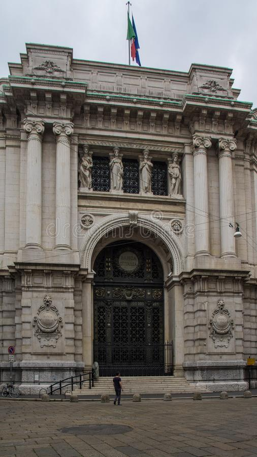 Middeleeuwse architectuur Europa stock foto