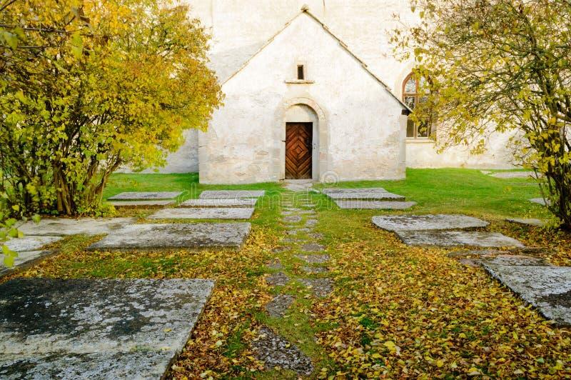Middeleeuwse kerk royalty-vrije stock foto
