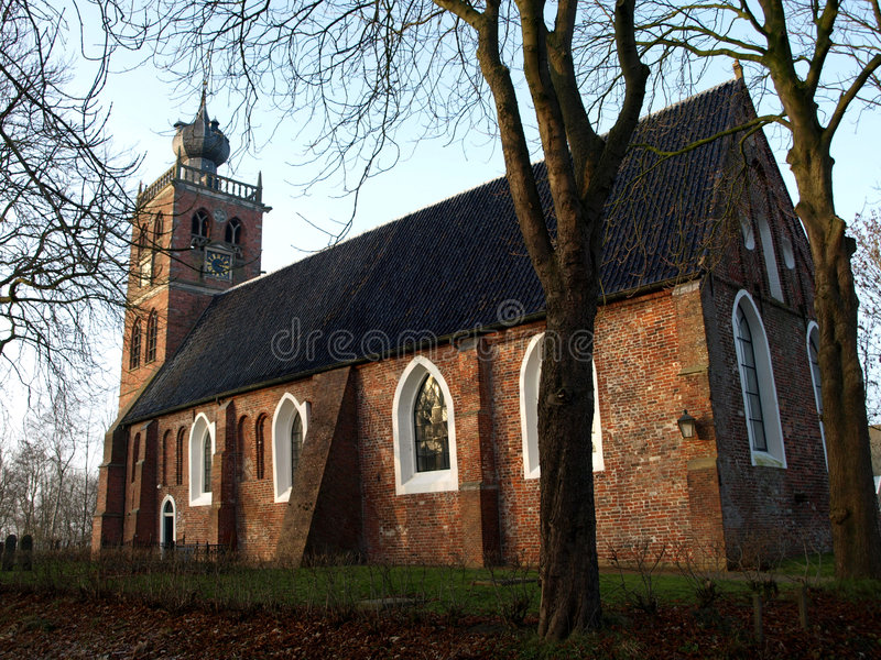 Middeleeuwse kerk royalty-vrije stock foto's