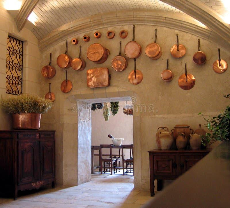 Middeleeuwse Keuken stock foto