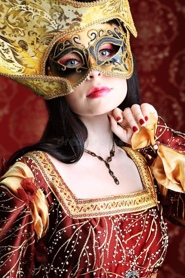 Middeleeuwse kleding stock afbeelding