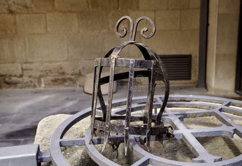 Middeleeuwse martelingsmaskers royalty-vrije stock foto