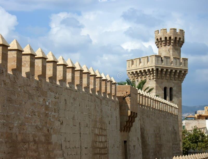 Middeleeuwse Muur royalty-vrije stock afbeelding