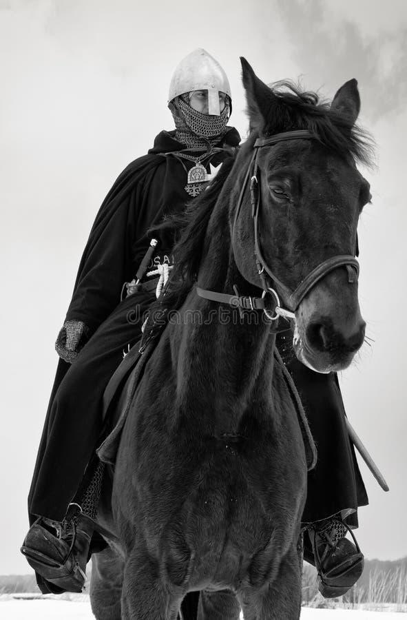 Middeleeuwse ridder van St. John (Hospitallers) royalty-vrije stock afbeelding