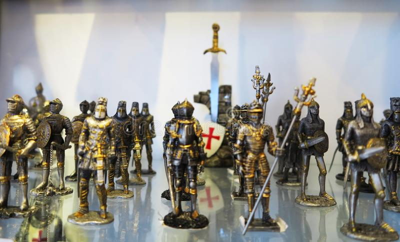 Middeleeuwse Ridders royalty-vrije stock foto
