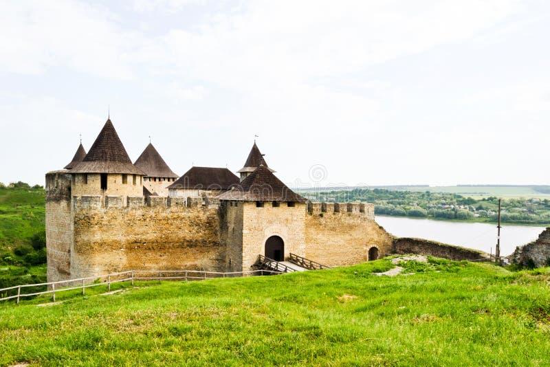 Download Middeleeuwse Vesting Khotyn Redactionele Fotografie - Afbeelding bestaande uit kasteel, architectuur: 54088962