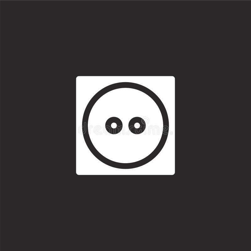middelgroot pictogram Gevuld middelgroot pictogram voor websiteontwerp en mobiel, app ontwikkeling middelgroot pictogram van gevu stock illustratie