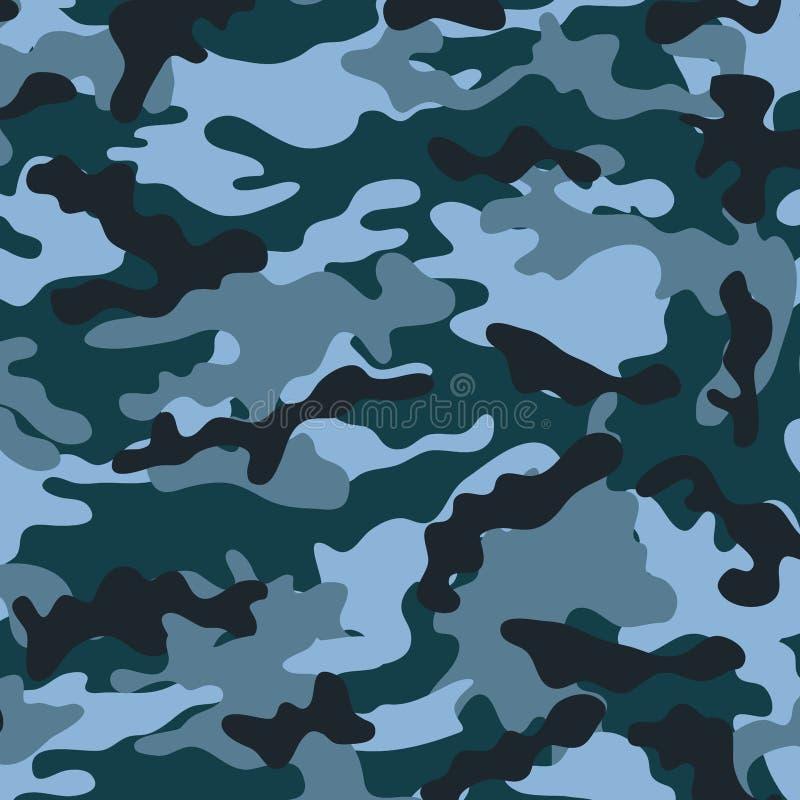 Middelgrote Camouflage vector illustratie