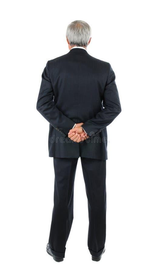 Download Middle Aged Businessman Hands Behind Back Stock Image - Image: 16457123