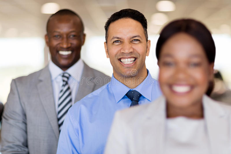Middle aged businessman people. Handsome middle aged businessman with business people royalty free stock images