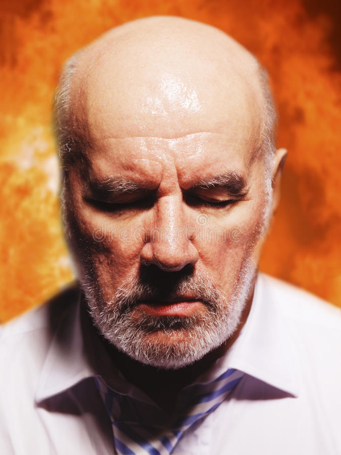 Download Middle Aged Businessman In Suffering Stock Photo - Image: 31840814