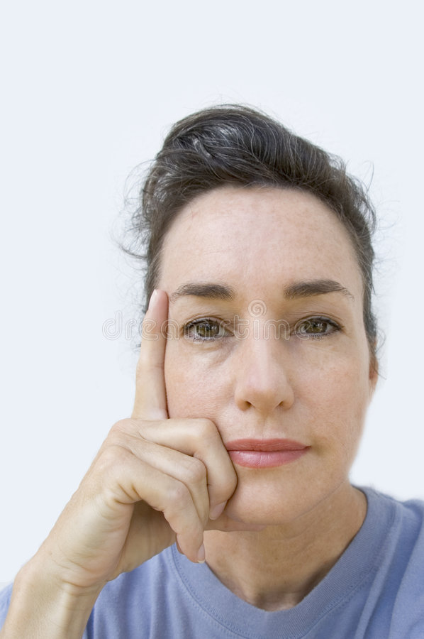 Middle aged confidence. royalty free stock photo