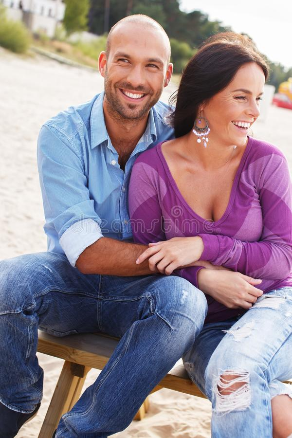 Download Middle-aged Couple Outdoors Stock Image - Image: 36548833