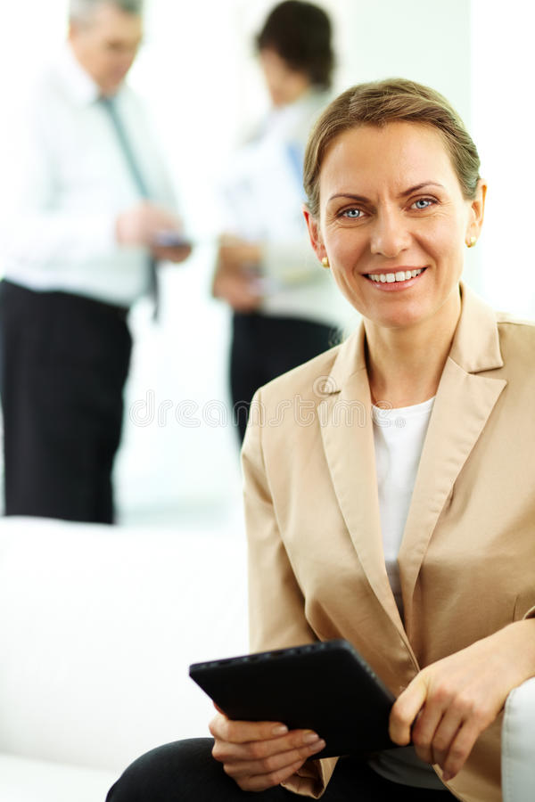Download Middle aged leader stock image. Image of corporation - 27379585