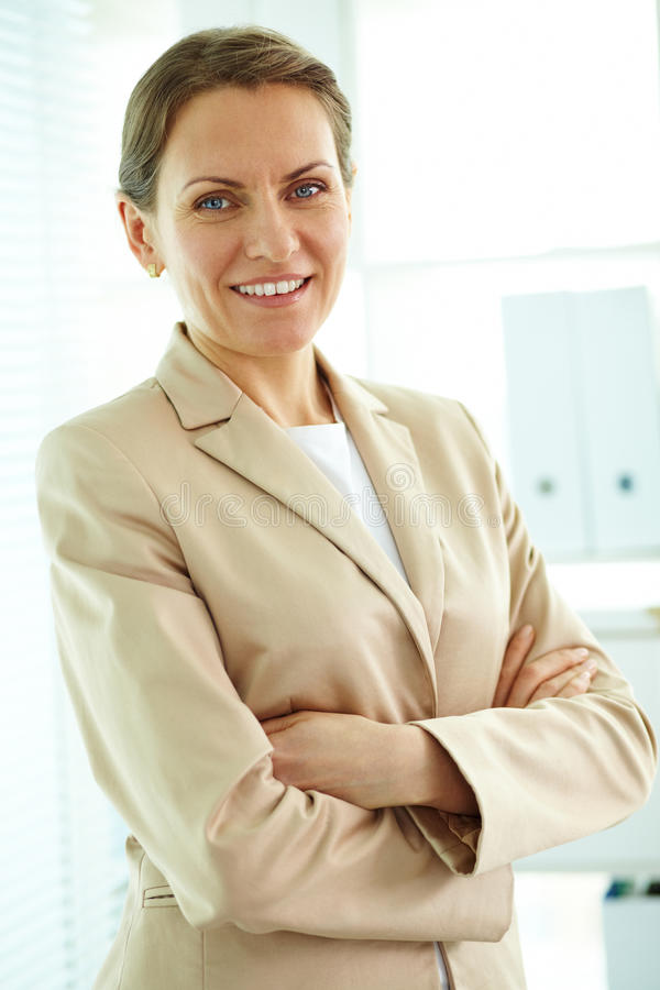 Middle Aged Leader Royalty Free Stock Photo