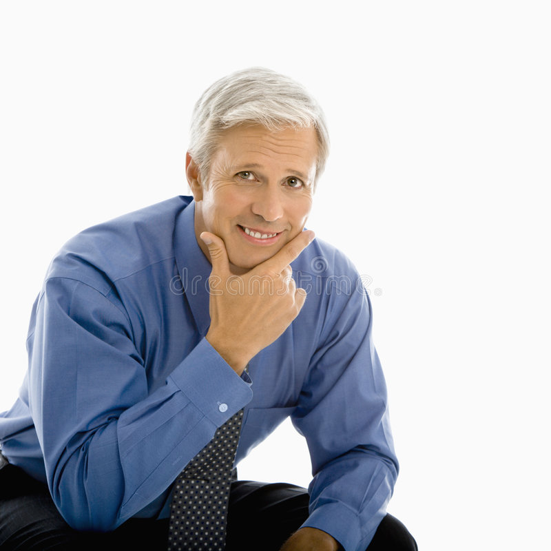 Download Middle aged man. stock image. Image of photograph, people - 4245715