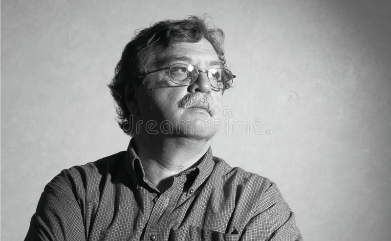 Download Middle Aged Man With Glasses Stock Photo - Image: 28420360