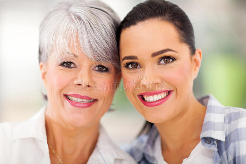 Download Middle Aged Mother Daughter Stock Photo - Image: 33854822